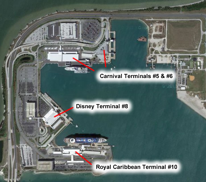 Port Canaveral Port Overview Parking Terminals And Maps