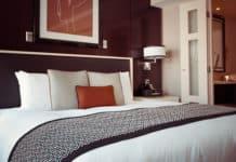 Boston hotel room