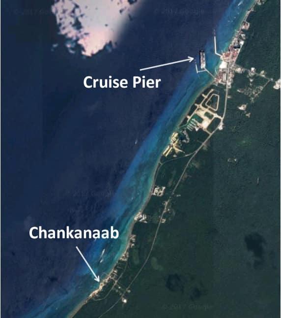 Chankanaab location map