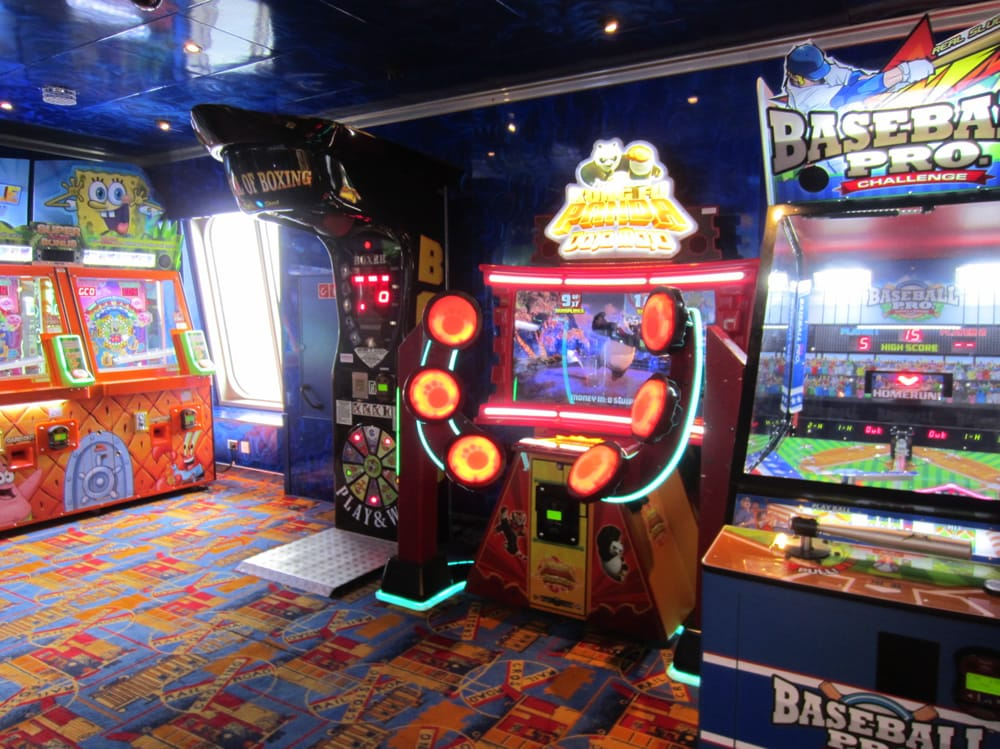Cruise Ship Arcades Games Location Amp Costs Cruzely Com