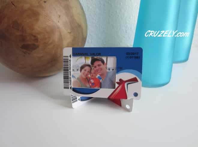 Cruise keycard project picture frame