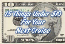 15 things under $10 for a cruise