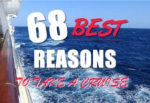 68 best reasons to take a cruise