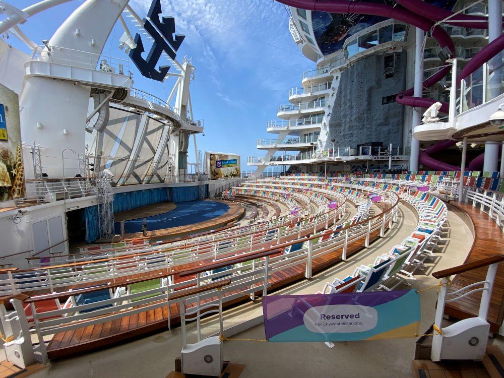 Aqua theater Royal Caribbean