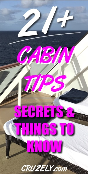 21+ Best Cruise Cabin Tips, Secrets, & Things to Know (Read Before Sailing)