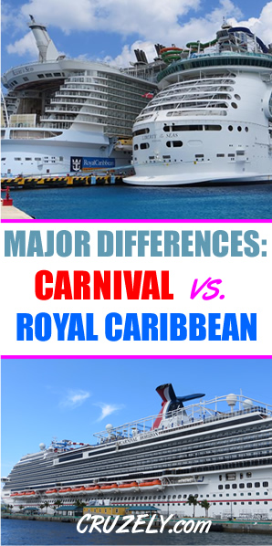 12 Major Differences Between Royal Caribbean and Carnival Cruise Line