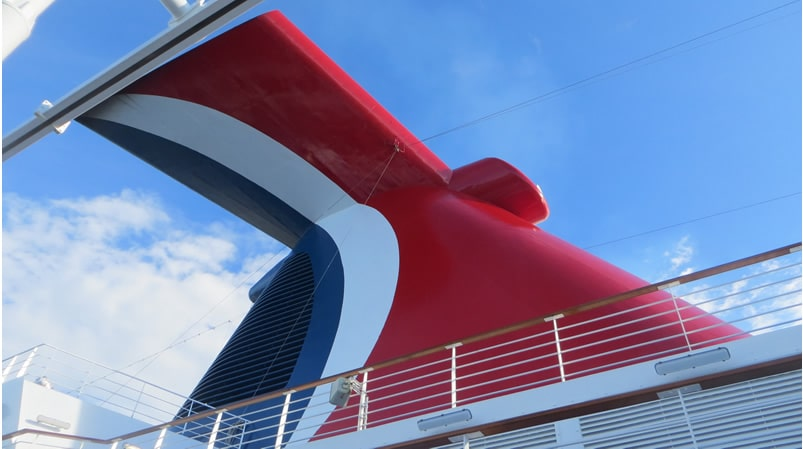 Carnival ship whale tail