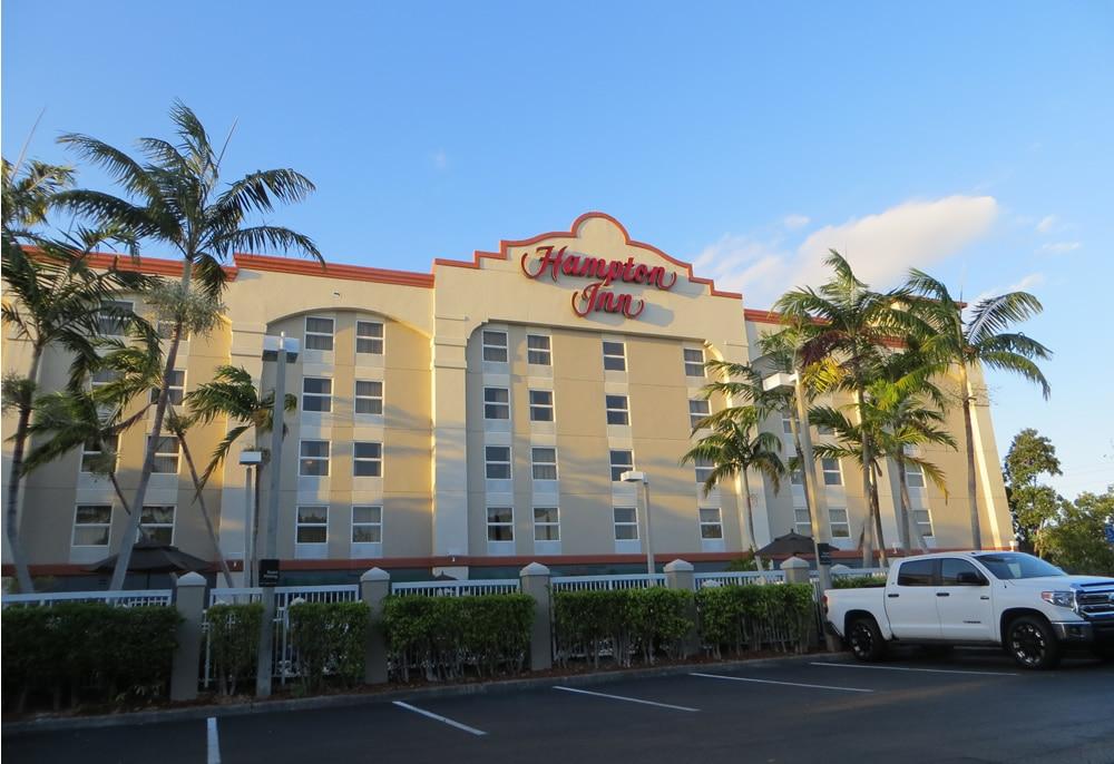 Hampton Inn cruise parking