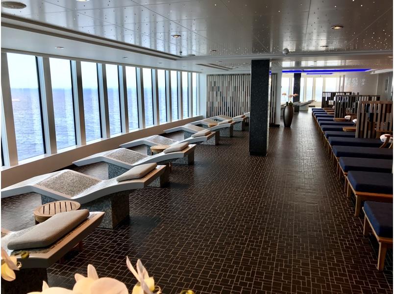 Mandara Spa on cruise ship