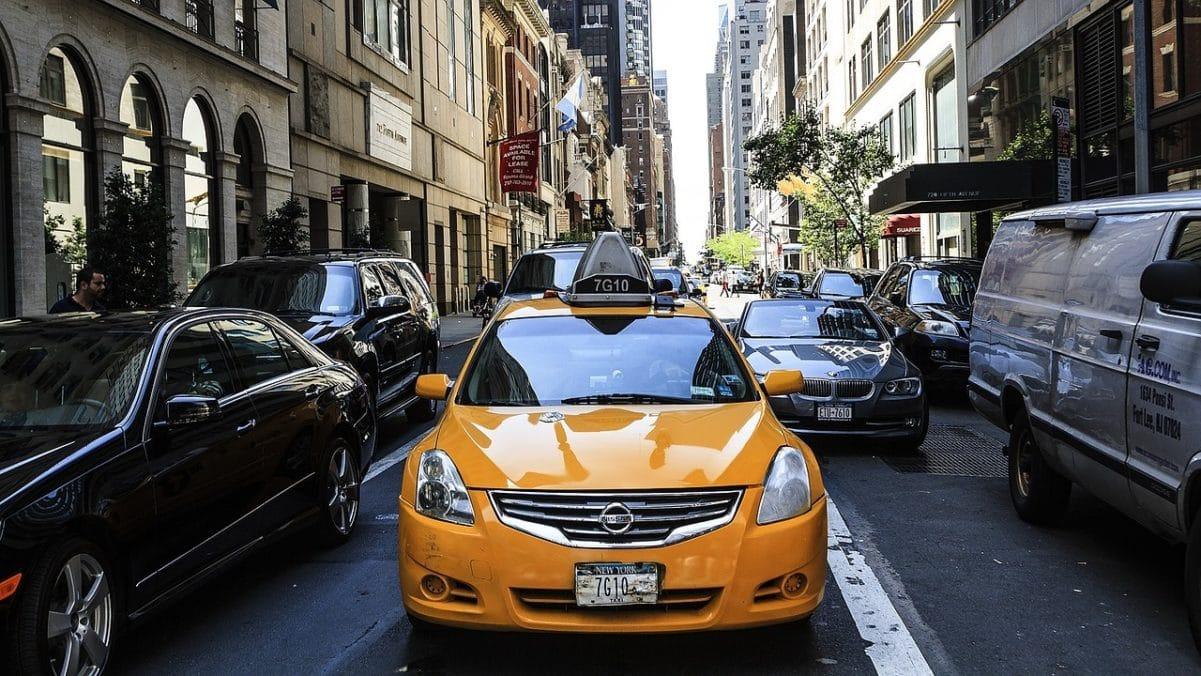Taxi in New York to Cape Liberty