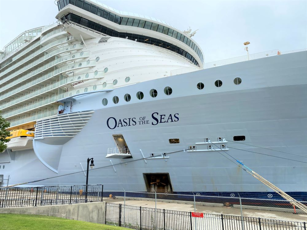 Best cruise ship: Oasis-class vessels