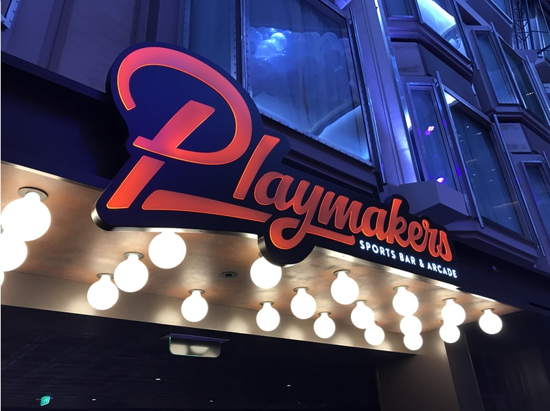Playmakers Sports Bar and Arcade on Royal Caribbean