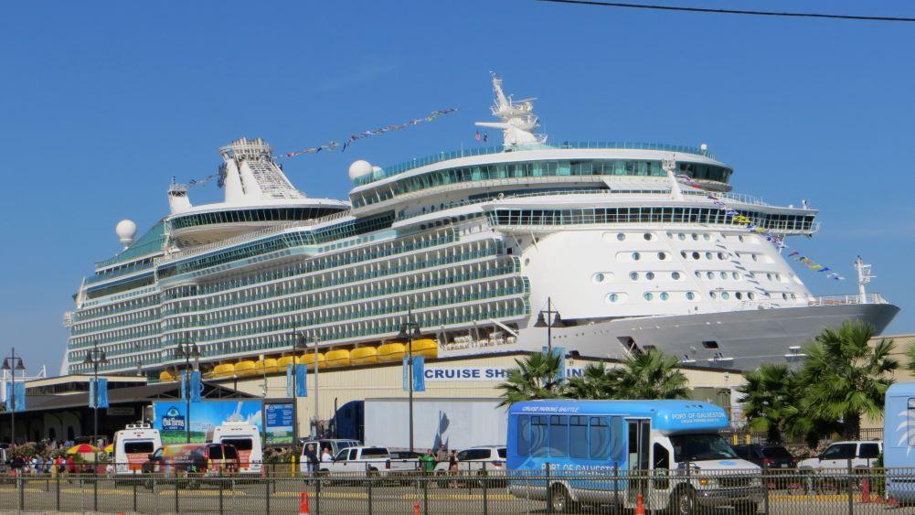 Royal Caribbean ship in Galveston