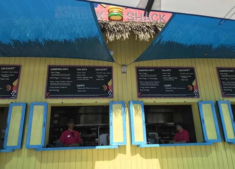 Snack Shack on CocoCay