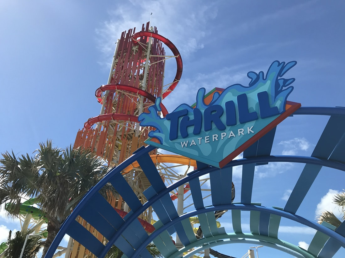 Entrance to Thrill Waterpark